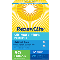 Ultimate Flora Critical Care 50 Billion Probiotic Vegetable Capsules