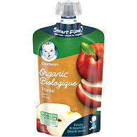 Organic Purée, Apple, Baby Food