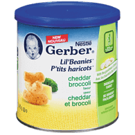 Lil' Beanies White Cheddar and Broccoli