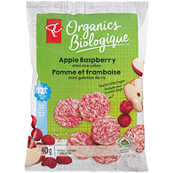 Apple Raspberry Mini Rice Crackers
