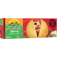Classic Pepperoni Pizza Pockets 3 Pack