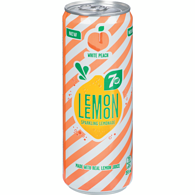 7UP Lemon Lemon White Peach (Case)