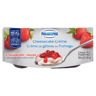 Cheesecake Crème Snack, Strawberry