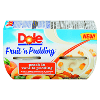 Fruit 'n Pudding Peach in Vanilla Pudding