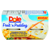Fruit 'n Pudding Mangues dans Pouding à la Mangue 4 x (492 g)