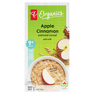 Toddler Oatmeal Cereal, Apple Cinnamon