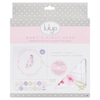 Baby's First Year Isn't She Lovely Blanket & Cards Set