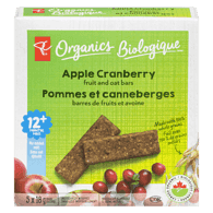 Oat Bars, Apple Cranberry
