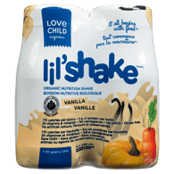Lil'Shake Nutrition Drink, Vanilla, 1-10 Years