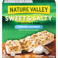 Sweet & Salty Chewy Bar, Toasted Coconut