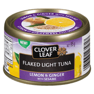 Flaked Light Tuna, Lemon Ginger with Sesame