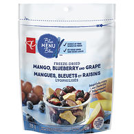 Crispy Freeze-Dried Fruit Blend, Mango, Blueberry and Grape