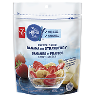 Banana And Strawberry Crispy Freeze-Dried Fruit Blend