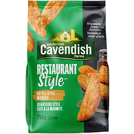 Cavendish Farms Restaurant Style All-Seasoned Kettle-Style Wedges (750G)