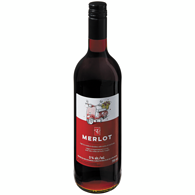 Red De-Alcoholized Wine With Natural Flavour