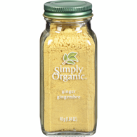 Ground Organic Ginger Root