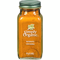 Ground Organic Root Turmeric