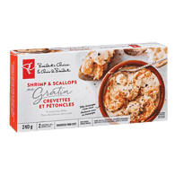 Shrimp & Scallops Au Gratin