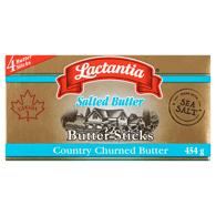 Butter Sticks Salted with Sea Salt