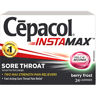 Instamax Sore Throat Berry Frost Value Pack!