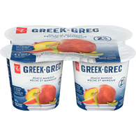 Greek Yogurt Fruit on the Bottom, Peach Mango 2%