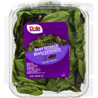 Spinach & Tender Reds