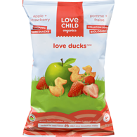 Love Duck Snacks, Apple Strawberry
