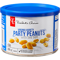 Virginia Variety Roasted Party Peanuts With Sea Salt