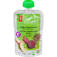 Apple, Beet, & Flax Pouch