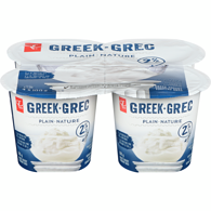Greek Yogurt, Plain 2%