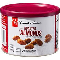 Roasted Almonds With Sea Salt
