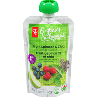 Berry, Spinach, & Chia Pouch