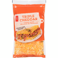 Shredded Triple Cheddar