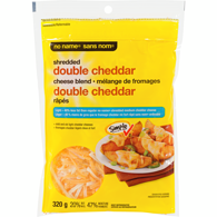 Shredded Double Cheddar Cheese