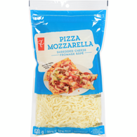 Shredded Cheese Pizza Mozzarella 20% M.F.