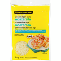 Shredded Part Skimmed Mozzarella