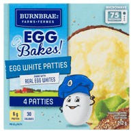 Egg Bake Egg White Patties