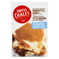 Homestyle Gravy Mix Hot Chicken Sandwich 25% Less Salt