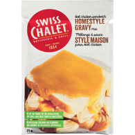 Homestyle Gravy Mix Hot Chicken Sandwich