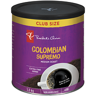 Colombian Supremo Medium Roast Extra Fine Grind 100% Arabica Coffee