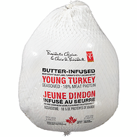 Butter Infused Frozen Turkey, 7-9 kg
