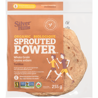 Sprouted Power Organic Whole Grain Tortillas 6 Hand-Stretched Tortillas