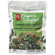 Kale, Spinach And Collard Greens Chopped Leafy Greens