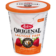 Original Balkan Yogurt, Lactose Free, Strawberry3.25%