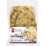 Garlic Mini Naan Flatbreads