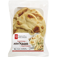 Traditional Mini Naan Flatbreads