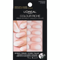 Paris Colour Riche Press-On Nails Parisian Ombré 24 Nails