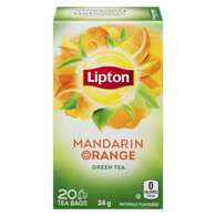 Green Tea Mandarin Orange 20 Tea Bags