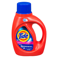 High Efficiency Liquid Detergent, Coral Burst