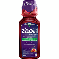 ZzzQuil Calm, Vanilla Cherry Syrup